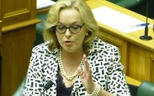Judith Collins in the House on Tuesday.