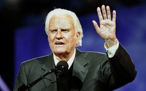 Evangelist Billy Graham.