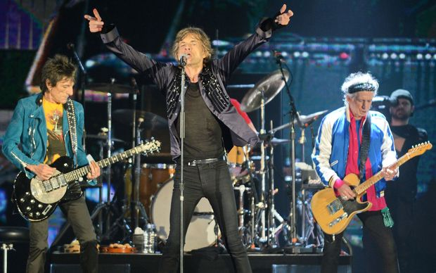 The Rolling Stones in concert in Singapore March 15.