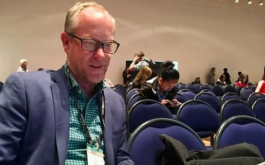 Victoria University of Wellington's director of the Antarctic Research Centre Tim Naish was a speaker at the Pacific Climate Change Convention, Wellington.