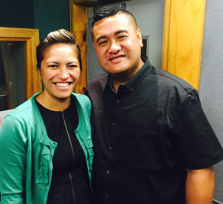 Kaiora and Frances Tipene of The Casketeers.