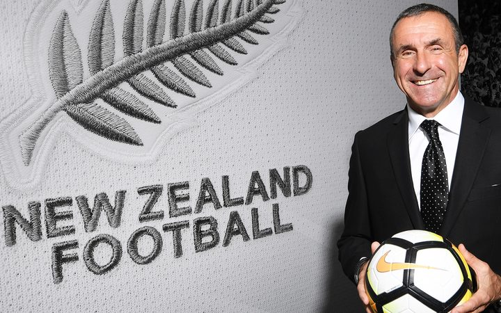 Swiss coach Fritz Schmid named new All Whites boss