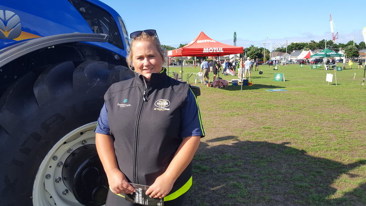 Rebecca Brown has been involved in Young Farmers for 15 years and is the vice chair of the NZ Young Farmers contest board.