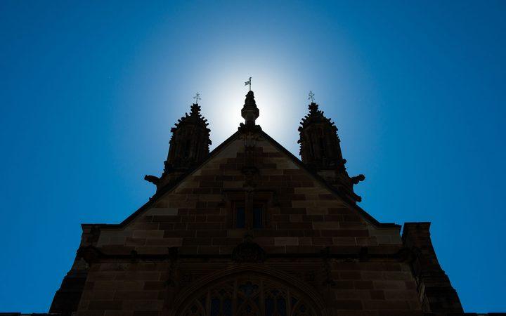 The historic quadrant building at Sydney University.