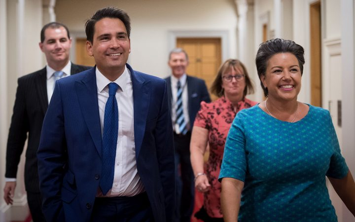 Simon Bridges on Amy Adams: 'I really rate her'