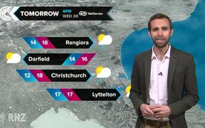 Checkpoint weather   Tuesday, February 27: RNZ Checkpoint