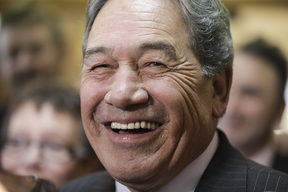 NZ First Leader Winston Peters