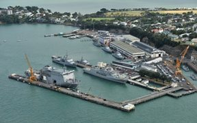 Devonport Naval Base.