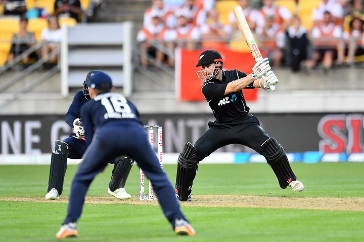 Blackcaps captain Kane Williamson in action