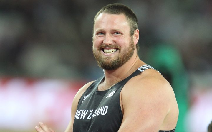 World champion New Zealand shot putter Tom Walsh.