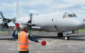 An Orion aircraft took off this afternoon at the request of the Fiji's Rescue Coordination Centre.