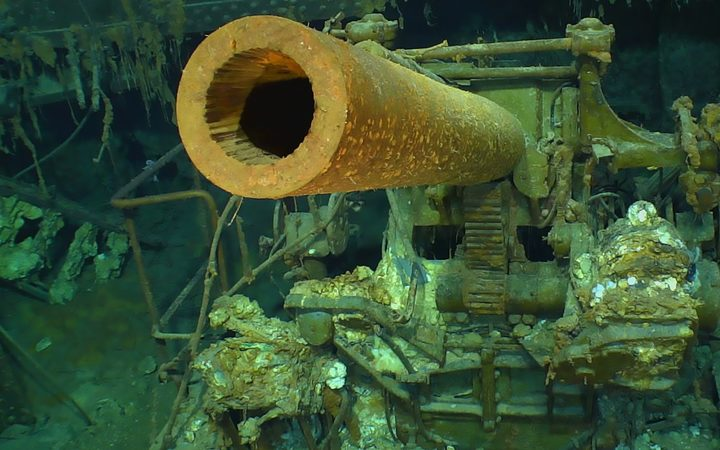 Lost WW2 aircraft carrier found after 76 years   RNZ News