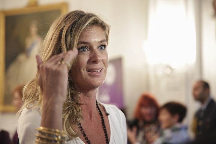 Rachel Hunter at the ceremony.