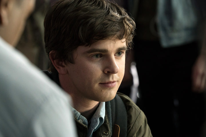 THE GOOD DOCTOR- Shaun Murphy (Freddie Highmore)