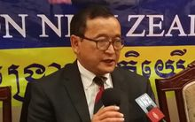 Sam Rainsy appealed for  New Zealand Government involvement.