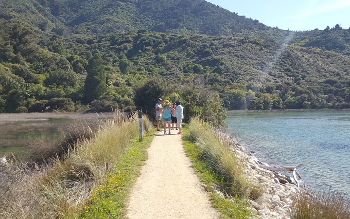 The Abel Tasman track.Photo/ Tracy Neal