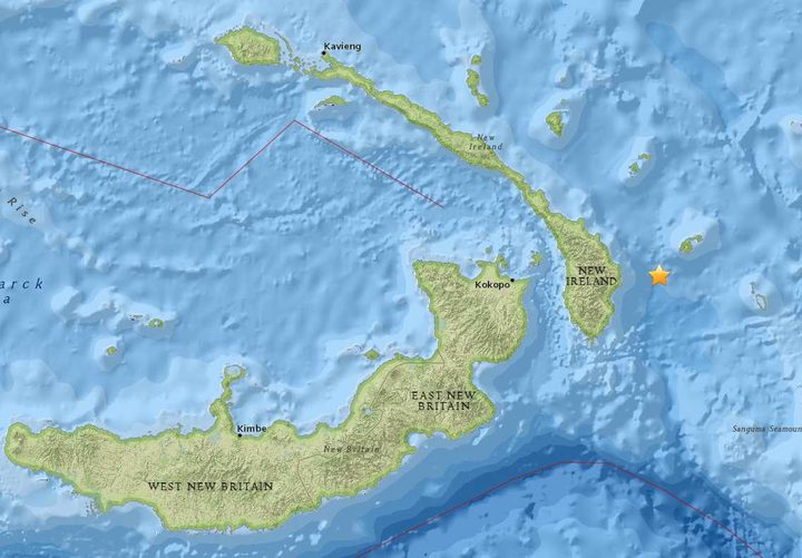 Quake death toll now at 55 in Papua New Guinea