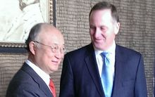 John key and Yukiya Amano.
