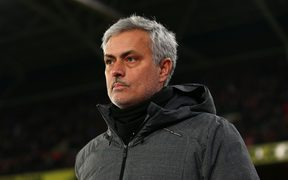 Manchester Untied Manager Jose Mourinho.