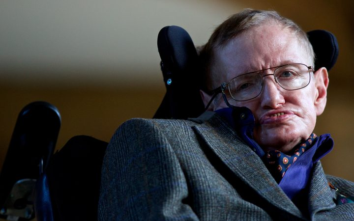 Theoretical physicist Stephen Hawking in 2013.