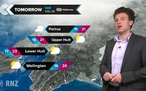 Checkpoint weather: Wednesday 14 March