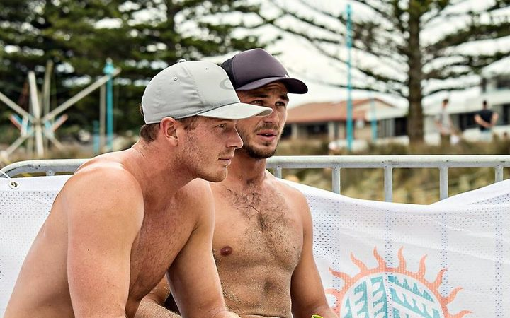 Beach volleyball players Ben and Sam O'Dea