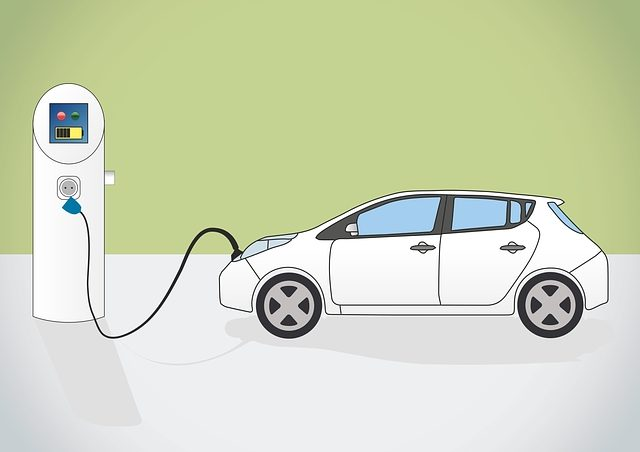 Electric Car Charging (Pixabay CC0 Creative Commons)