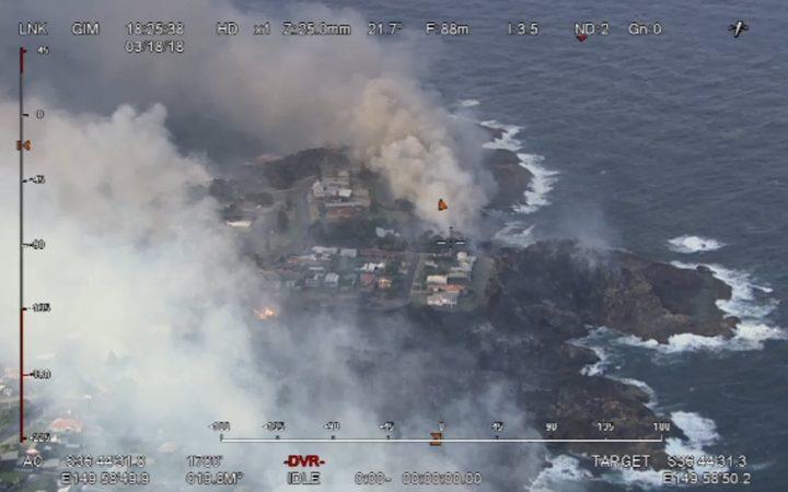 Raging Australia Bushfire Destroys 70 Homes and Sends Residents Fleeing