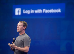 March 25, 2015 Facebook CEO Mark Zuckerberg speaks at the F8 summit in San Francisco, California.