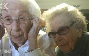 Gramma and Ginga: 103 and 99 year old internet sensations