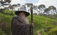 "Ian McKellen as Gandalf in ""The Hobbit: An Unexpected Journey""."