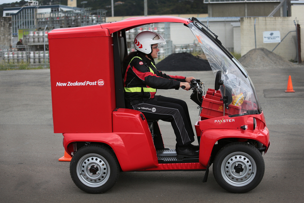 NZ Post will trial the vehicles in Lower Hutt.