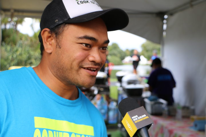 William Nio - Cook Island village at Pasifika Festival 2018
