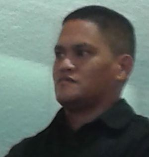 Teina Pora at the High Court in March.