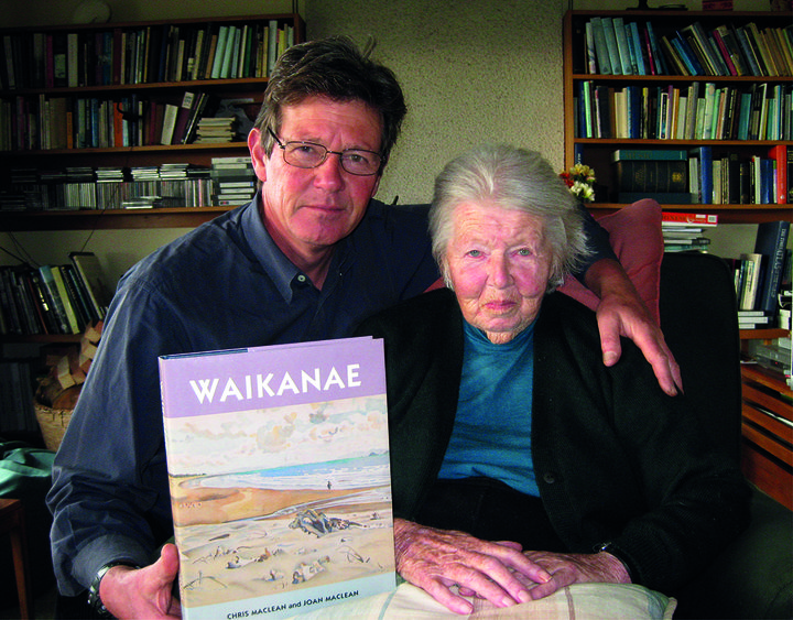 Writer Chris Maclean with his mother and co-author, Joan Maclean