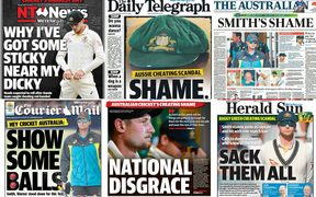 Some of the media reaction from across the Tasman to Australia's cheating.
