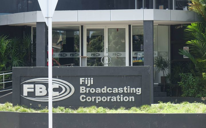 The FBC, Fiji's government-owned broadcaster.