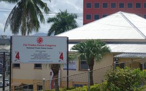 The Fiji Trades Union Congress in Suva, Fiji.