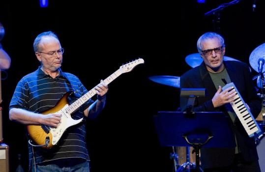 Walter Becker and Donald Fagan from the band Steely Dan
