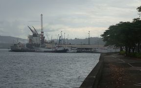 The Port at Suva, Fiji.