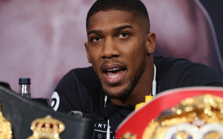 Anthony Joshua Tells Deontay Wilder To 'Stop The Fantasy'