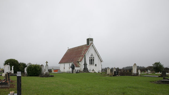 Ohaeawai Pa, St Michael's church was built on the pa site in 1871
