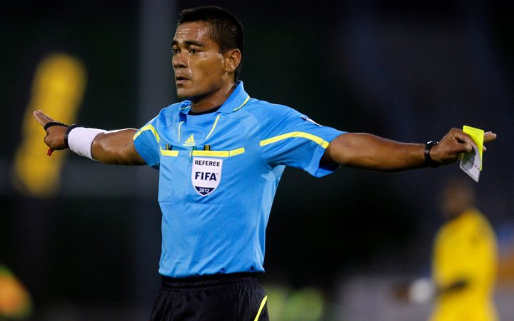 Tahiti football referee Norbert Hauata.