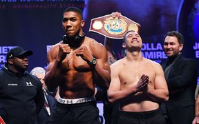 Anthony Joshua and Joseph Parker.