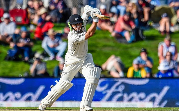 Blackcaps vs England: Second test, day two
