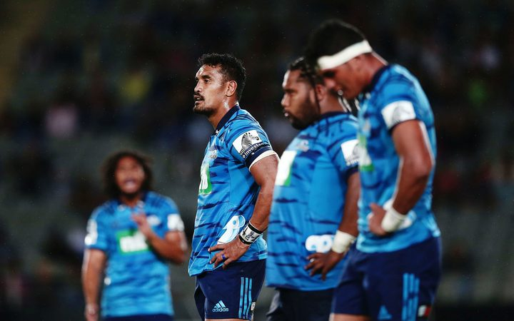 Jerome Kaino looks on as Blues beaten.
