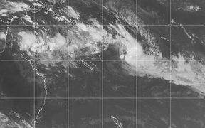 Satellite image of Tropical Cyclone Josie