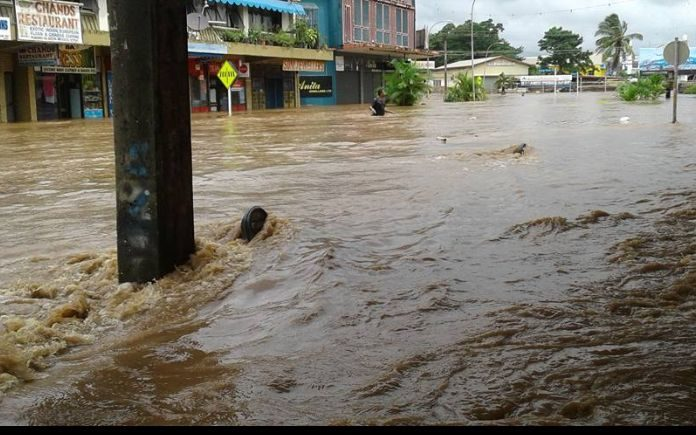Tropical Cyclone Josie causes major flooding in Fiji's Ba