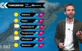 Checkpoint weather: Tuesday 3 April