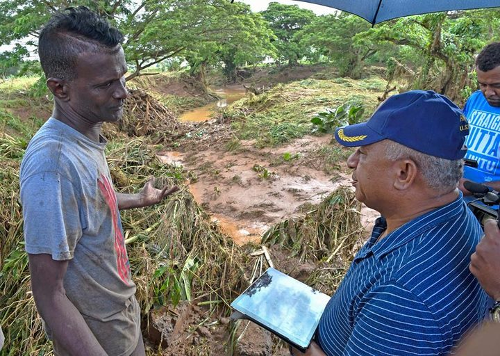 Fiji damaged by cyclone, PM sees 'frightening' weather ahead